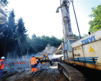 Soilmec Jet Grouting Technology