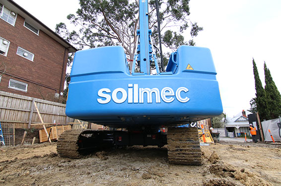 Soilmec Piling Rig SR-20