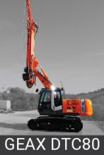 Geax Compact Piling Rigs dtc80