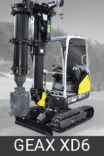 Geax Compact Piling Rigs xd6