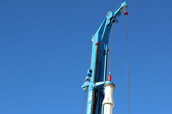 Soilmec Piling Rig SR-20 Mast