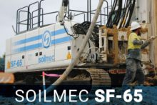 Soilmec Piling Rig SF-65
