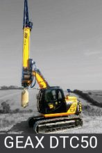 Geax Compact Piling Rigs dtc50