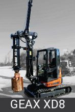 Geax Compact Piling Rigs xd8